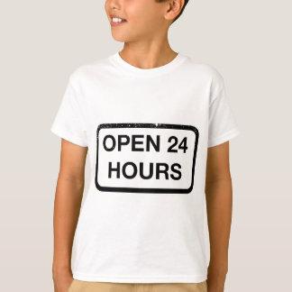 open 24 hours t shirts shirt designs zazzle