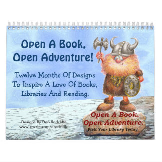 Open A Book, Open Adventure! Calendar