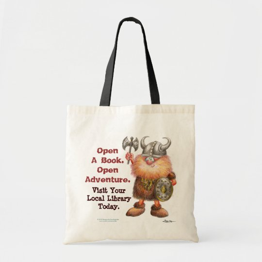 Open A Book. Open Adventure. Tote Bag