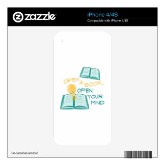 Open A Book Skins For The iPhone 4S