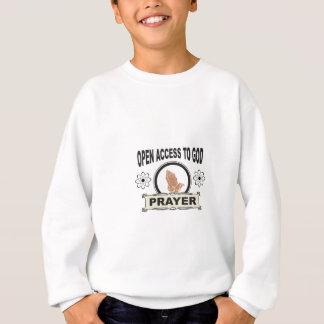 open access to god sweatshirt