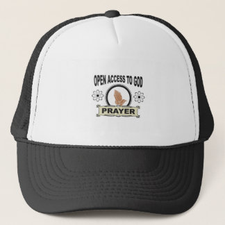 open access to god trucker hat