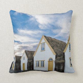 Open air museum of Glaumbaer Throw Pillow