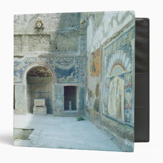 Open air triclinium of the House of Neptune Binder