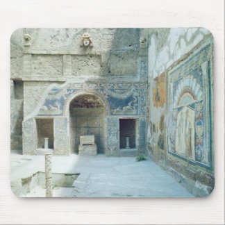 Open air triclinium of the House of Neptune Mousepad