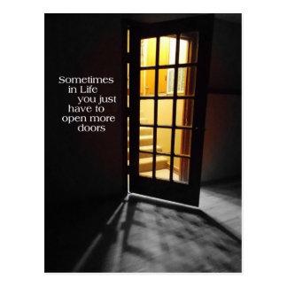 Open another Door CARD