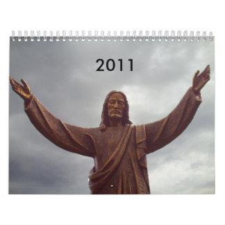 open arm jesus, 2011 calendar