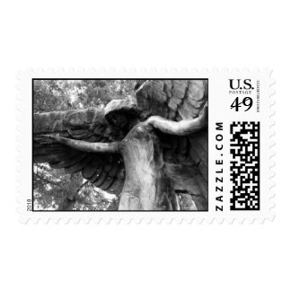 Open Arms (b&w) Stamp