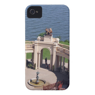 Open arms for peace and calm orangerie schwerin iPhone 4 case