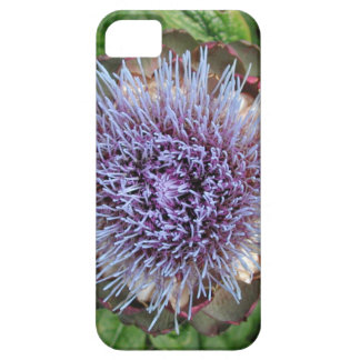 Open Artichoke Flower. Purple. iPhone SE/5/5s Case