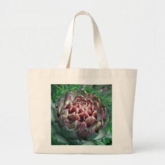 Open Artichoke Plant. Bags