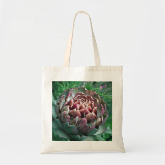 Open Artichoke Plant. Budget Tote Bag