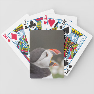 Open Billed Puffin Bicycle Playing Cards