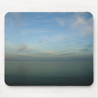 Open Blue Water Mouse Pad