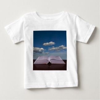 Open Book and Sky Baby T-Shirt