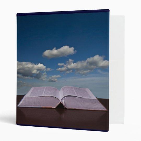Open Book and Sky Binder