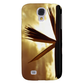 Open Book and Sunset Photograph Samsung Galaxy S4 Cover