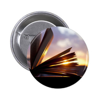 Open Book and Sunset Photography Button