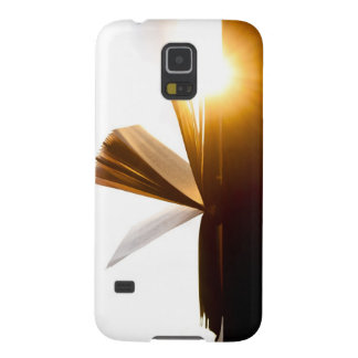 Open Book and Sunset Photography Galaxy S5 Case