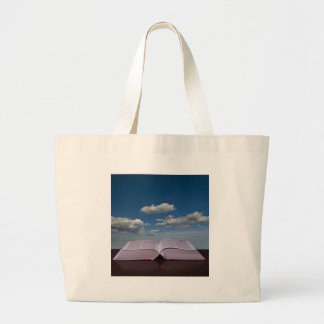 open book tote bag