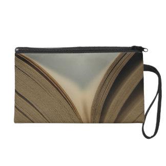 Open Book Wristlet