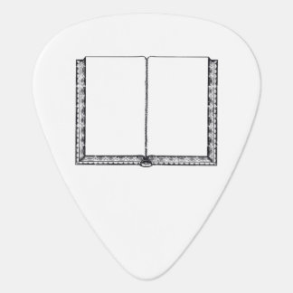 Open Book (Blank Pages) Guitar Pick