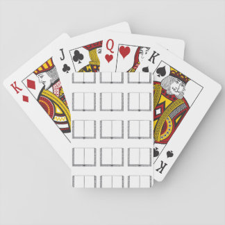 Open Book (Blank Pages) Playing Cards