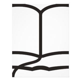 Open Book Letterhead