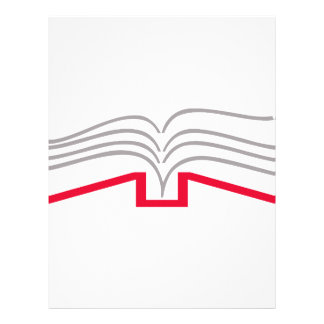 Open Book Letterhead