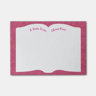 Open Book Literature Buff Teacher Post-it® Notes