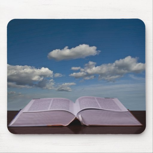 open book mouse pad