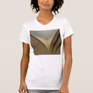 Open Book Pages T-Shirt