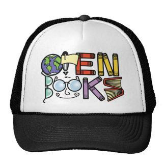 Open Books Trucker Hat