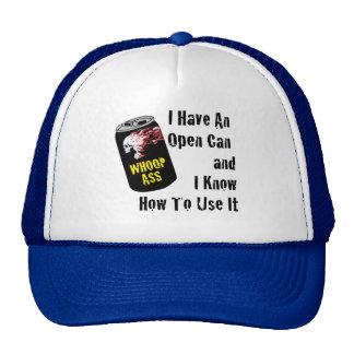 Open Can of Whoop Ass Trucker Hat