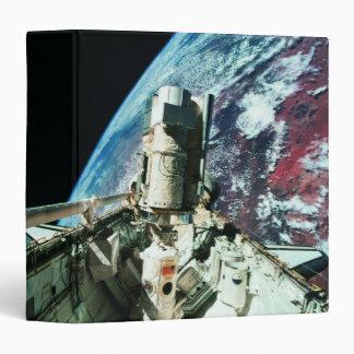 Open Cargo Bay 2 Vinyl Binder