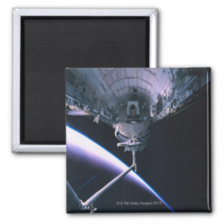 Open Cargo Bay 2 Inch Square Magnet