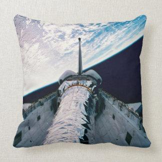 Open Cargo Bay 3 Throw Pillows
