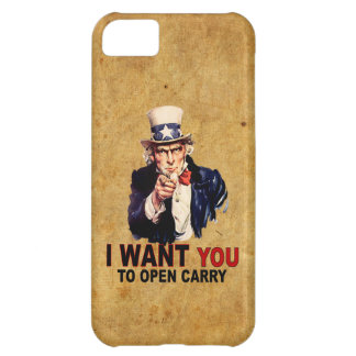 Open Carry iPhone 5C Cover