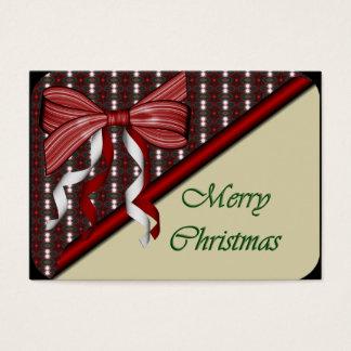 Open Christmas Present Recipe Cards