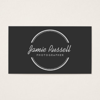 OPEN CIRCLE LOGO BUSINESS CARD