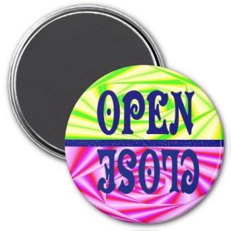 Open/Close Round Magnet