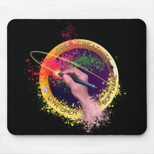 Open Creativity Mouse Pad