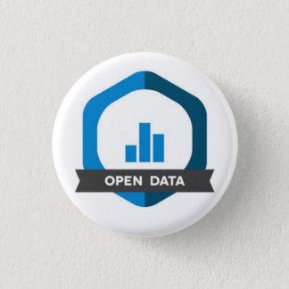 Open Data Badge Pinback Button