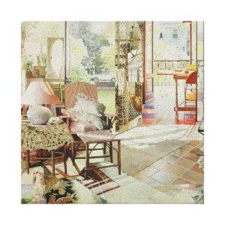 Open Door 1987 Canvas Print
