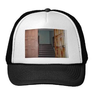 Open Door And Stairwell To Cameron Hall In Univers Mesh Hat