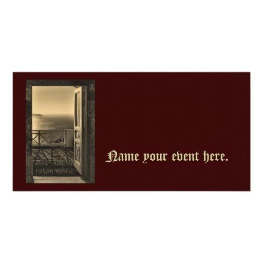 Open Door Flyer Photo Card
