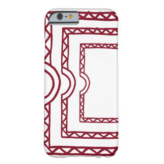 Open Door Red Barely There iPhone 6 Case
