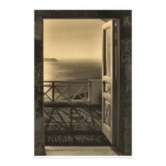 Open door-Retro Stationery