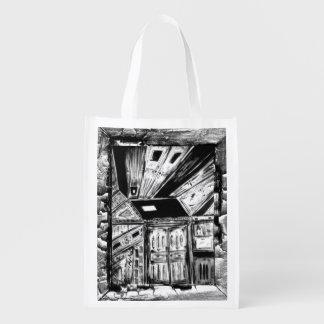 Open Doors Grocery Bag