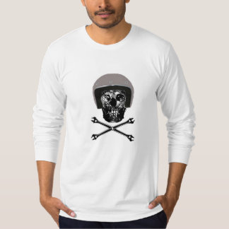 Open-end wrench adjustable death's head T-Shirt
